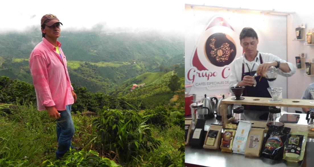 «La cata de café es la que habla»: Ezequiel Sánchez